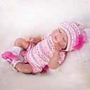 ieftine Păpuși-OtardDolls Păpuși Renăscute Bebe Fetiță 20 inch natural Lui Kid Fete Cadou