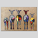 cheap Animal Paintings-Print Stretched Canvas - Still Life Modern