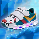 cheap Boys' Clothing Sets-Boys' / Girls' Shoes PU(Polyurethane) Fall & Winter Comfort / Light Up Shoes Sneakers Magic Tape / LED for Kids White / Green / Pink