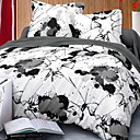 cheap Contemporary Duvet Covers-Duvet Cover Sets Contemporary Polyster Reactive Print 3 Piece