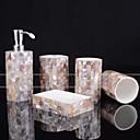 ieftine Soap Dispensers-Set Accesorii Baie Draguț / Creative Reșină / PVC 5pcs - Baie Single