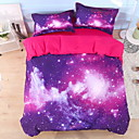 cheap Floral Duvet Covers-Duvet Cover Sets 3D Polyester / Polyamide Reactive Print 4 Piece