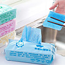 cheap Kitchen Appliances-Kitchen Cleaning Supplies Non-woven Fabrics Cleaning Brush & Cloth Anti-Dust / Non-Stick 1pc