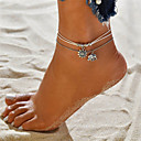 cheap Models & Model Kits-Layered Anklet - Elephant, Sun Vintage, Bohemian, Tropical White For Gift / Bikini / Women's