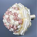 رخيصةأون أزهار الزفاف-زهور الزفاف باقات زفاف مثل الساتان والحرير / حصى / / 11-20 cm