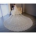 """זול מתנות לחתונה-שכבה אחת סגנון פרח / שבכה / שמלה הניתנת להמרה הינומות חתונה צעיפי קפלה עם סגנון מוטיב פרחוני מפוזר ביד 118.11 אינץ' (300 ס""""מ) טול / חיתוך זווית / מפל"""