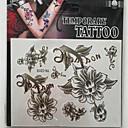 cheap Tattoo Stickers-1 Glitter Non Toxic Pattern Lower Back Waterproof Christmas Others Tattoo Stickers