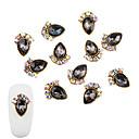 cheap Rhinestone & Decorations-10 pcs Nail Jewelry Fashionable Design nail art Manicure Pedicure Diamond / Rhinestone Decorated Case