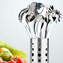 ieftine Instrumente de bucatarie Accesorii-Ustensile de bucătărie Teak Unelte Spațiu de Cinat & Bucătărie 7pcs