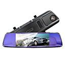 billige Herre Ure-Anytek T77 1080p Nattesyn / Dual Lens Bil DVR 170 grader Vidvinkel 7 inch IPS Dash Cam med G-Sensor Biloptager