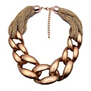 cheap Jewelry Sets-Women's Choker Necklace / Chain Necklace - Korean, Oversized Gold 45 cm Necklace 1pc For Wedding, Party / Evening