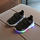 cheap Boys' Clothing Sets-Boys' / Girls' Shoes Mesh Spring / Fall / Spring & Summer Comfort / Light Up Shoes Sneakers Chain / Magic Tape / LED for Kids / Baby White / Black / Pink / Striped