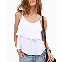 cheap Robots-women's tank top - solid colored round neck