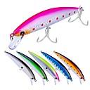 זול פיתיונות וזבובי דיג-6 pcs פתיונות דיג פיתיון קשיח פלסטי חוץ הטלת פיתיון / דיג בפתיון / דיג כללי