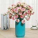 cheap Artificial Flower-Artificial Flowers 2 Branch Classic / Single Rustic / Simple Style Chrysanthemum / Eternal Flower Tabletop Flower