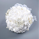 olcso Esküvői virágok-Esküvői virágok Csokrok Esküvő / Menyegző Csipke / Hab 11-20 cm