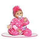 ieftine Păpuși-NPKCOLLECTION Păpuși Renăscute Bebe Fetiță 24 inch Silicon - Artificial Implantation Blue Eyes Lui Kid Fete Jucarii Cadou