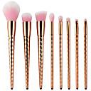 preiswerte Make-up-Pinsel-Sets-8St Makeup Bürsten Professional Bürsten-Satz- Nylonfaser Umweltfreundlich / Weich Plastik
