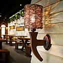 ieftine Aplice de Perete-Model nou / Cool Simplu / Modern / Contemporan Becuri de perete Sufragerie / Dormitor Lemn / bambus Lumina de perete 220-240V 40 W / E27