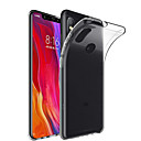 זול מגנים לטלפון & מגני מסך-מגן עבור Xiaomi Mi 8 / Mi 8 SE שקוף כיסוי אחורי אחיד רך TPU ל Xiaomi Mi Mix 2 / Xiaomi Mi Mix 2S / Xiaomi Mi מערבבים