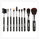 cheap Makeup Brush Sets-10-Pack Makeup Brushes Professional Eyeliner Brush Foundation Brush Eyeshadow Brush Makeup Brush Set Powder Brush Soft / Full Coverage Wooden / Bamboo