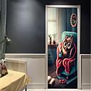 ieftine Acțibilde de Perete-Autocolante de Perete Decorative / Etichete pentru autovehicule - Sărbători perete Abțibilduri Animale / #D Sufragerie / Dormitor