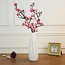 זול צמחים מלאכותיים-פרחים מלאכותיים 1 ענף קלאסי מודרני שזיף פרחים לשולחן