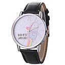 ieftine Brățări-Xu™ Pentru femei Ceas Elegant / Ceas de Mână Chineză Creative / Ceas Casual / Mare Dial PU Bandă Desen animat / Modă Negru / Alb / Albastru