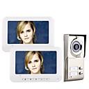 ieftine Sistem De Ușă Telefon Video-MOUNTAINONE 2 Apartments  Video Door Phone Cablu 7 inch Mâini-libere 480*234 Pixel Interfon video 1 la 2