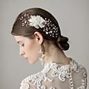 povoljno Party pokrivala za glavu-Imitacija bisera Kose za kosu s Cvijet 1 komad Vjenčanje / Zabava / večer Glava