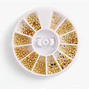 cheap Rhinestone & Decorations-1 pcs Nail Jewelry Fashionable Design nail art Manicure Pedicure Daily Wear Metallic / Punk Lolita