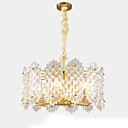 cheap Ceiling Lights-QIHengZhaoMing 6-Light Crystal Chandelier Ambient Light 110-120V / 220-240V, Warm White, Bulb Included / 15-20㎡