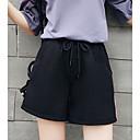 povoljno Modne ogrlice-Žene Pamuk Wide Leg / Kratke hlače Hlače Prugasti uzorak