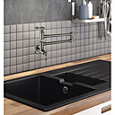 رخيصةأون حنفيات المطبخ-حنفية المطبخ نيكل ناعم وعاء حشو تركيب الحائط