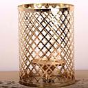 halpa Synteettiset peruukit ilmanmyssyä-European Style Rauta Kynttilänjalat Kynttilänjalka 1kpl, Kynttilä / kynttilänjalka