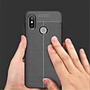 זול מגנים לטלפון & מגני מסך-מגן עבור Xiaomi Mi 8 / Mi 8 SE מובלט כיסוי אחורי אחיד רך עור PU ל Xiaomi Mi Mix 2 / Xiaomi Mi Mix 2S / Xiaomi Mi 8