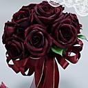 tanie Sztuczny kwiat-Sztuczne Kwiaty 1 Gałąź Pojedynczy Ślub / Kwiaty ślubne Róże Bukiety na stół