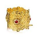 זול נעליים לטיניות-בגדי ריקוד נשים שכבות צמידים צמידי חפתים - ציפוי זהב אתני צמידים זהב עבור Party מתנה