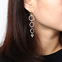 cheap Earrings-Women's Long Drop Earrings - Stylish, Luxury, Trendy Gold / Silver For Gift / Daily