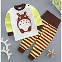 ieftine Top Băieți Bebeluși-Bebelus Băieți Dungi Manșon Lung Set Îmbrăcăminte