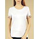 ieftine Colier la Modă-Pentru femei Mărime Plus Size Tricou Bumbac Plisat
