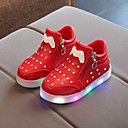 cheap Boys' Shoes-Boys' / Girls' Shoes PU(Polyurethane) Spring / Fall Bootie / Light Up Shoes Boots Chain / LED for Kids / Baby Black / Red / Pink / Booties / Ankle Boots