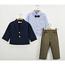 cheap Boys' Clothing Sets-Kids / Toddler Boys' Solid Colored Long Sleeve Clothing Set