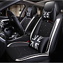 ieftine Husă Scaun Auto-ODEER Perne Scaun Auto Coperți pentru scaune Negru / Alb textil / Piele Artificială Obișnuit for Παγκόσμιο Toți Anii Toate Modele