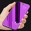 cheap Cell Phones-Case For Huawei Honor 10 with Stand / Mirror / Flip Full Body Cases Solid Colored Hard PU Leather for Huawei Honor 10