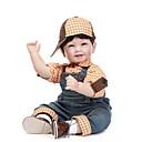 povoljno Lutkice-NPKCOLLECTION Autentične bebe Za muške bebe 24 inch Umjetna implantacija Plave oči Dječjom Uniseks / Djevojčice Igračke za kućne ljubimce Poklon