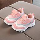 זול נעלי ילדות-בנות נעליים רשת / PU אביב קיץ נוחות נעלי אתלטיקה הליכה ל ילדים לבן / שחור / ורוד