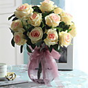 tanie Sztuczne kwiaty-Sztuczne Kwiaty 1 Gałąź Pojedyncze minimalistyczny styl Róże Bukiety na stół