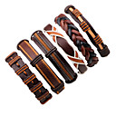 cheap Men's Bracelets-Men's Leather Bracelet - Leather Fashion Bracelet Brown For Stage Street
