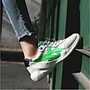 povoljno Ženske tenisice-Žene Cipele Mekana koža Proljeće ljeto Udobne cipele Sneakers Creepersice žuta / Svijetlo zelena